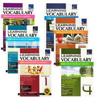 英文原版1-6年级练习册套装 SAP Learning Vocabulary Workbook 1-6 新亚英语词汇拓展小学作业 英语分阶自学培训班选用教材读物