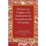 【预订】Discours Sur L'Origine Et Les Fondements de L'Inegalite