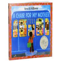 英文原版绘本 A Chair for My Mother 妈妈的红沙发 英文版儿童启蒙英语阅读图画书 给妈妈的椅子 进
