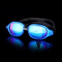 泳镜 男女士游泳眼镜高清防雾大框平光电镀儿童防雾潜水装备新品