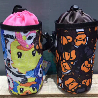 通用儿童保温吸管杯套 隔热防烫防摔便携玻璃杯套焖烧杯手提袋