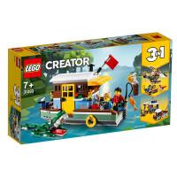 【当当自营】LEGO乐高积木好朋友Friends系列31093 河畔船屋