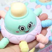 新生牙胶Q萌手拿手抓软胶小章鱼捏捏叫磨牙玩具 婴儿宝宝0-12个月