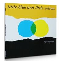【中商原版】吴敏兰推荐 凯迪克 小蓝和小黄 进口英文原版绘本 Little Blue & Little Yellow