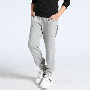 乌龟先森 儿童休闲裤 男童春季韩版新款小学生童装中大童棉质男孩运动儿童长裤子