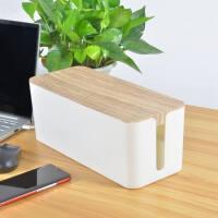 线束收纳盒 大号电线收纳盒 插线板收纳盒集线盒充电数据线电源线插座
