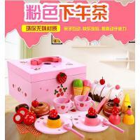 木制甜蜜公主蛋糕组 切切看木质女孩过家家玩具 MG015B 2.2