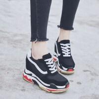内增高老爹鞋女户外时尚百搭松糕厚底休闲运动鞋