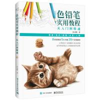 色铅笔实用教程从入门到精通 色铅笔基础教程 彩铅绘画技法入门书籍 色铅笔零基础自学