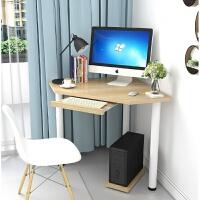 家用小户型迷你电脑桌三角形L型墙角拐角办公桌书桌写字桌定制