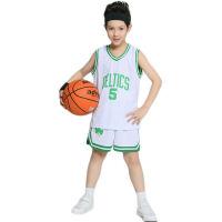 儿童全明星篮球服骑士詹姆斯球衣勇士库里球衣湖人队科比球衣中小学生可团购