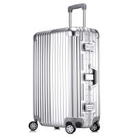 新款拉杆箱万向轮铝框行李箱男女旅行箱硬箱登机箱出国箱包PC超轻