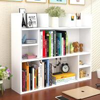 书架简易桌上学生用桌面书架置物架办公室书桌收纳宿舍小柜子