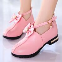 童鞋女童皮鞋透气单鞋女孩棉鞋中大童宝宝公主鞋