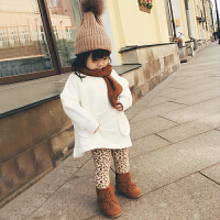 女童打底�秋冬外穿加厚高腰�p�俞���和���女�����L�子