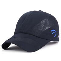 帽子新款春季夏天速干棒球帽韩版男女士户外网帽遮阳防晒鸭舌帽潮