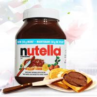 费列罗Nutella 美国进口费列罗能多益榛果可可酱巧克力酱1000g 进口巧克力酱面包酱 坚果酱调味酱
