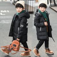 童装冬装加厚儿童中大童男孩棉袄十岁潮男童棉衣外套