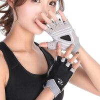 瑜伽防滑透气护腕健身房男锻炼运动半指手套女动感单车骑行薄款