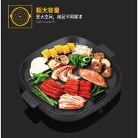 户外方形麦饭石烤盘家庭户外方形煎盘铁板烧烤肉盘
