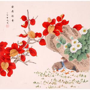 李晓明《花开富贵》