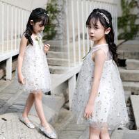 儿童蕾丝公主裙女童装夏装中大童夏款洋气潮连衣裙子
