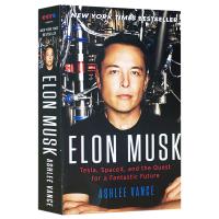 正版现货硅谷钢铁侠埃隆马斯克传 英文原版人物传记 Elon Musk Tesla SpaceX PayPal 创始人特