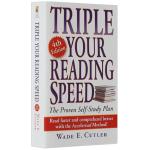 正版现货 全英文版阅读书籍 飞速提高你的阅读速度 英文原版 三倍速英语阅读 Triple Your Reading S