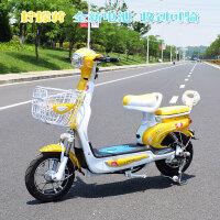 新款女士挡风小型电动自行车助力迷你型踏板48V代步锂电瓶车新品 48V