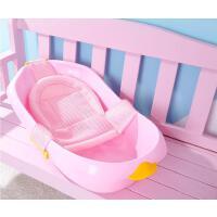 婴儿洗澡盆浴盆新生儿宝宝用品可坐躺通用小孩儿童沐浴桶大号