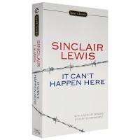 不会发生在这里 英文原版书 It Can't Happen Here 英文版反乌托邦小说 诺贝尔文学奖及普利策奖得主辛