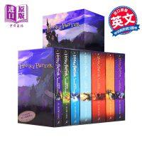 【中商原版】哈利波特原版书籍英文正版全集 Harry Potter哈里波特 1-7全套英版可搭与魔法石密室小说 书籍.