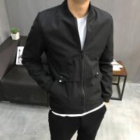 男士夹克春季2018新款韩版潮流修身帅气春秋棒球衣服薄款外套男装