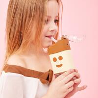 西瓜水杯雪糕儿童吸管水杯宝宝幼儿园夏季冷水壶