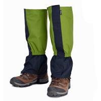 徒步加长男女防水防沙儿童滑雪护腿脚套 雪套户外登山防雪鞋套