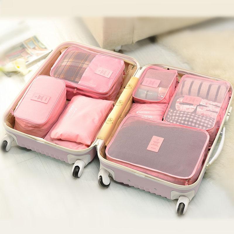 泰蜜熊旅行防水收纳6件套行旅箱衣物分装袋支持礼品卡+积分抵现