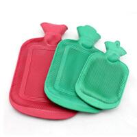 怀旧充水热水袋 冲水热水袋 橡胶注水暖水袋 小号颜色随机2个装
