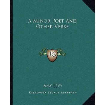 【预订】A Minor Poet and Other Verse 预订商品,需要1-3个月发货,非质量问题不接受退换货。