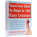 正版现货 轻松100课教会孩子阅读英文 英文原版 Teach Your Child to Read in 100 Ea