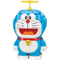 哆啦A梦小叮当机器猫乐高积木拼装玩具益智力动脑六一儿童节礼物