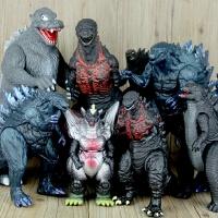 电影大号恐龙哥斯拉玩具 软胶银河奥特曼怪兽关节可动哥斯拉模型