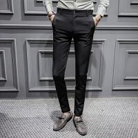 绅士青年商务休闲西裤修身小脚男士小码休闲裤27码矮个子上班正装
