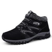 棉鞋男冬季保暖加绒户外登山鞋高帮雪地靴东北加厚棉鞋运动休闲鞋新品