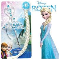 儿童皇冠发饰头箍公主钻石冰雪奇缘魔法棒套装六一发箍玩具