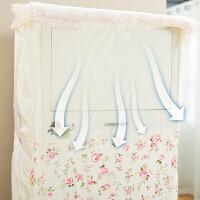 空调罩柜机立式空调套子布艺客厅柜式罩美的格力海尔3P匹2p防尘罩
