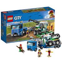 【当当自营】乐高LEGO 城市组CITY系列 60223 收割机运输车