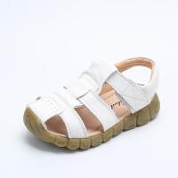 男童凉鞋夏季1-3岁小孩女童宝宝包头儿童鞋
