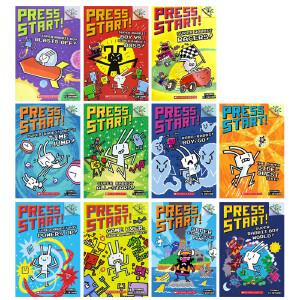学乐桥梁书大树系列 Scholastic Branches Press Start! Super Rabbit Boy6册 英文原版 学乐桥梁章节书 全彩英文 5-7岁