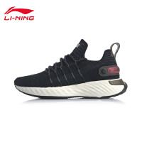 李宁跑步鞋女鞋2020新款李宁云六代 Element减震回弹一体织运动鞋