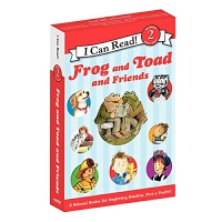 Frog and Toad and Friends Box Set 青蛙和蟾蜍套装 英文原版(平装)